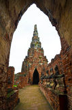 Ayutthayatempel Stock Foto
