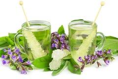 Ayuveda naturopathy herbal teas Stock Photo