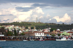 Ayvalik town Royalty Free Stock Photo