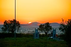 Ayvalik Town Royalty Free Stock Images