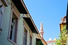 Ayvalik Town, old streets Royalty Free Stock Photo