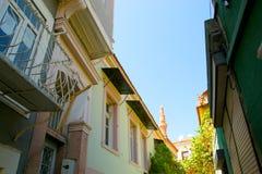 Ayvalik Town, old streets Royalty Free Stock Photos