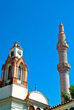 Ayvalik Town, old streets Royalty Free Stock Image