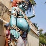 Ayyanar horse temple in Chettinad, India royalty free stock photos
