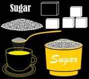 azúcar Fotografía de archivo libre de regalías