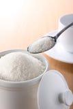 Azúcar blanco Foto de archivo libre de regalías