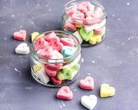 Azúcar coloreado Fotos de archivo