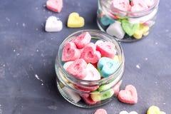 Azúcar coloreado Fotografía de archivo libre de regalías