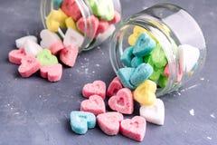 Azúcar coloreado Foto de archivo libre de regalías