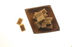 Azúcar de Brown Fotografía de archivo
