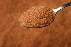 Azúcar de Brown Foto de archivo