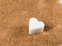 Azúcar de Brown Foto de archivo libre de regalías