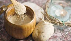 Azúcar de Brown Imagenes de archivo