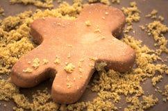 Azúcar de Brown con Clay Man-Shaped Moisturizer fotos de archivo libres de regalías