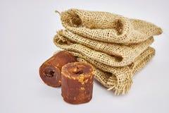 Azúcar de la palma Foto de archivo libre de regalías