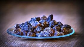 Azúcar de la roca de Kandis Fotos de archivo libres de regalías