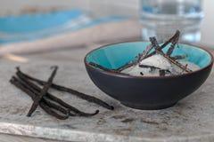 Azúcar de la vainilla Foto de archivo