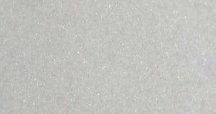azúcar de los cristales de la rotación 4k almacen de metraje de vídeo