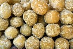 Azúcar de savia de palmera de la caña de azúcar imagen de archivo