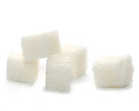 Azúcar de terrón imagen de archivo