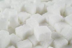 Azúcar de terrón foto de archivo