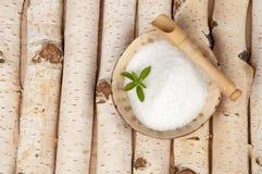 Azúcar del abedul Fotografía de archivo