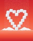 Azúcar del amor Foto de archivo libre de regalías