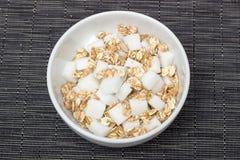 Azúcar del cereal Fotos de archivo libres de regalías