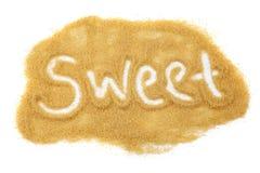 Azúcar dulce fotografía de archivo libre de regalías
