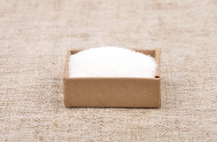 Azúcar en el lino Fotos de archivo libres de regalías