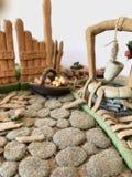 Azúcar más allá de la figura Mazapán vagetable Imágenes de archivo libres de regalías