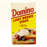 Azúcar marrón claro Imagenes de archivo