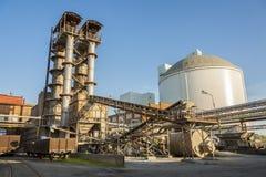 Azúcar-refinería Imagen de archivo libre de regalías