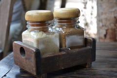 Azúcares de Brown Foto de archivo libre de regalías