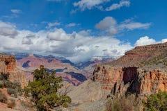 AZ盛大峡谷国家公园外缘明亮的天使足迹 免版税图库摄影