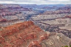 AZ-грандиозный след Оправ-оправы национальный парк каньона Стоковое Фото