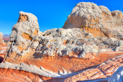 AZ-土狼小山区域白的口袋 库存图片