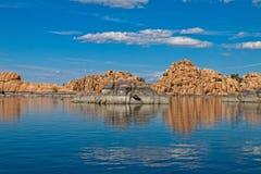 az dells granitowy jeziorny Watson Zdjęcia Stock