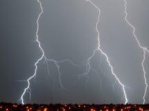 az do Tucson piorun Zdjęcie Stock