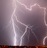 az do Tucson piorun Zdjęcia Stock
