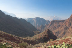 AZ-Grand Canyon-Bright Angel Trail Royalty Free Stock Photo