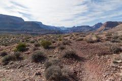 AZ-Grand Canyon-Clear Creek Trail Stock Images