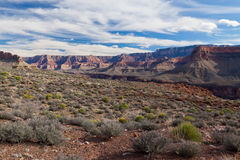 AZ-Grand Canyon-Clear Creek Trail Royalty Free Stock Photography