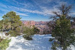 AZ-Grand Canyon National Park-S Rim Royalty Free Stock Image