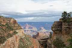 AZ-Grand Canyon National Park-S Rim-Bright Angel Trail Royalty Free Stock Images