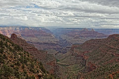 AZ-Grand Canyon National Park-S Rim-Bright Angel Trail Stock Images