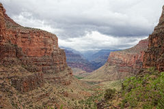 AZ-Grand Canyon National Park-S Rim-Bright Angel Trail Royalty Free Stock Image