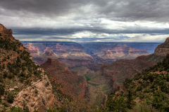 AZ-Grand Canyon National Park-S Rim-Bright Angel Trail Stock Image