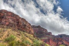 AZ-Grand Canyon National Park-S Rim- Indian Gardens areal Royalty Free Stock Photos