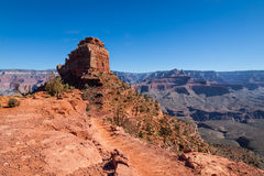 AZ-Grand Canyon National Park-S Rim- S Kaibab Trail Royalty Free Stock Photo